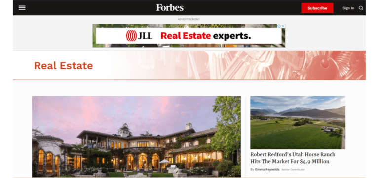 Top 32 Real Estate Agents Blogs in 2021_forbes
