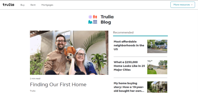 Top 32 Real Estate Agents Blogs in 2021_trulia